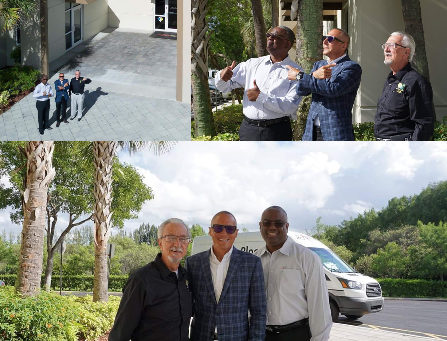Frank Torre hosts local dignitaries andbusiness leaders to tour PuroClean's Tamarac Offices.