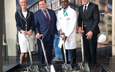DMC RIM Breaks Ground on new facility at District Detroit.